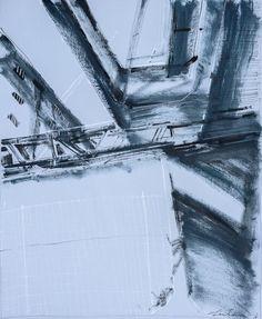 COMPLEX IV di Helen Shulkin acrilico ed inchiostro su carta cm 65x50 www.livinart.it