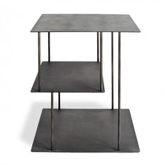 abcDNA Helix Steel Side Table #abcDreamSpace