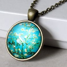 "Van Gogh ""Almond Blossoms"" Necklace"