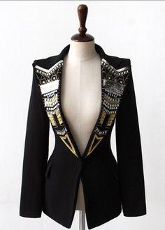 Blazer Fashion, Suit Fashion, Hijab Fashion, Fashion Dresses, Womens Fashion, Haute Couture Style, Couture Mode, Couture Fashion, Hijab Stile