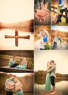 This engagement shoot is just too much pretty in one place!