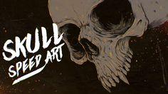 Vampire Skull - Speed art
