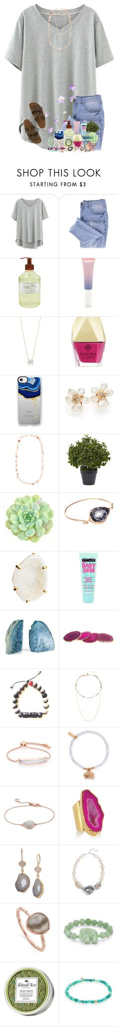 """i NEED a bubble bath"" by livnewell ❤ liked on Polyvore featuring Essie, Library of Flowers, Forever 21, Adina Reyter, Kendra Scott, Casetify, Kenneth Jay Lane, Bagatelle, Nearly Natural and WALL"