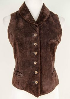 B. Moss Brown Suede Vest Size M by B. Moss | ClosetDash
