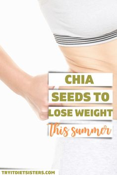Bikini ready with Chia Seeds this summer. 8 Sisters tried Chia Seeds to lose weight - is it worth it? The healthy and omega rich super foods should be a part of every diet! try out these great recipes now to lose weight fast. I want to show you how to use chia seeds for weight loss. I love these fat burning recipes for weight loss using chia seeds. These chia seed drink recipes include lemon and yogurt for diet results. See more at tryitdietsisters.com. Diet Plans To Lose Weight, How To Lose Weight Fast, Chia Seed Breakfast, Diets That Work, Bikini Ready, Super Foods, Weights For Women, Fad Diets, Fat Burning Foods