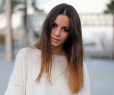 Subtle Ombre Hair - Hairstyles, Easy Hairstyles For Girls