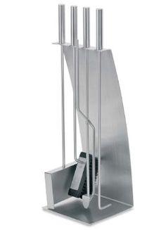 Blomus Stainless Steel Fireplace Tool Set