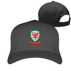UEFA Euro 2016 Wales National Football Team Logo2 Cap - http://soccershop.nationalanthemsworldcup2014.com/adult-unisex-uefa-euro-2016-wales-national-football-team-logo2-cotton/