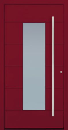 Contemporary and modern entry doors by Groke. A superior alternative to fiberglass, steel or wood doors. Modern Entry Door, Modern Exterior Doors, Entry Doors, Entrance, Modern Driveway, Room Door Design, Iron Doors, Wooden Doors, Contemporary