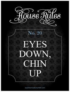 BDSM House Rules No 20
