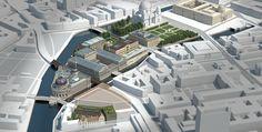 Projektion Zukunft: Masterplan Museumsinsel - Projektion Zukunft