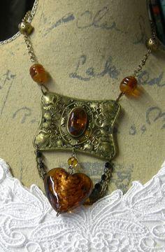 Repurposed Vintage Citrine Belt Buckle Assemblage by Vintagearts Boot Jewelry, Cowgirl Jewelry, Charm Jewelry, Wire Jewelry, Jewelery, Jaune Orange, Hardware Jewelry, Mixed Media Jewelry, Recycled Jewelry