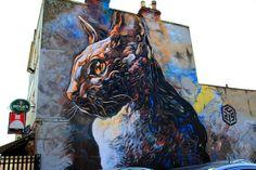 2013 Upfest Bristol - Graffiti Art by Graffiti Artist: C215 {Explore - 29/07/2013 - Highest Position #108} | Flickr - Photo Sharing!