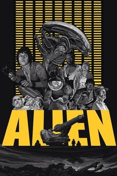 'Alien' Franchise posters by Tim Clinard