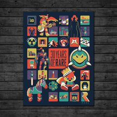 The latest news on all things DKNG Screen Print Poster, New Poster, Poster Prints, Instagram Design, Like Instagram, Classic Video, Video Game Industry, Video Game Art, Video Games