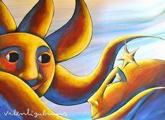 Poesia Infantil i Juvenil: Un poema d'amor: romanç del Sol i la Lluna