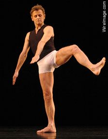 Mikhail Baryshnikov in the production 'Nevertheless, Caviar' at the Barbican Theatre London. February 17, 2004