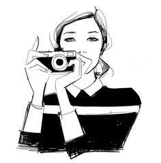 Podobają mi się ilustracje Garance Dore