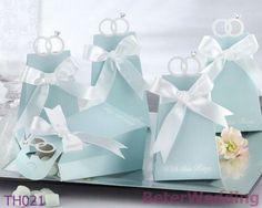 卸しでbags@BeterWedding結婚キャンデーとしてtiffany結婚式の好意箱TH021/Aの使用