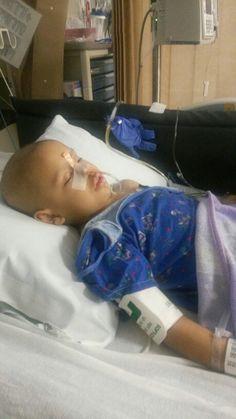 My 5yr daughter Mina kicking cancers ass again!!! FUCK CANCER!!!!
