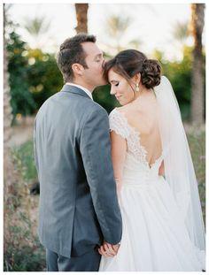 Lace wedding gown, lace sleeves | Rustic Chic Wedding | Encanterra Wedding Photos | Rachel Solomon Photography Blog | Kimberly and Bobby – Encanterra Wedding | http://blog.rachel-solomon.com