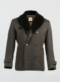 Patch Pocket Peacoat