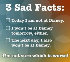 One way to rid yourself of NADD, Not at Disney Depression...