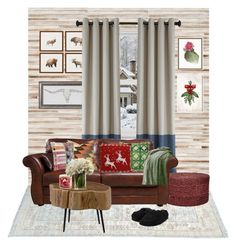 """Cozy winter"" by dailycreativepill on Polyvore featuring interior, interiors, interior design, home, home decor, interior decorating, Loloi Rugs, Jaipur, Moe's Home Collection and Pottery Barn"