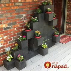 We could make our home more beautiful with cinder block planter ideas on your terrace, front yard or backyard. Take a look our cinder block collections .Read More. Diy Garden, Spring Garden, Garden Projects, Diy Projects, Garden Boxes, Herb Garden, Garden Tips, Garden Fences, Cacti Garden
