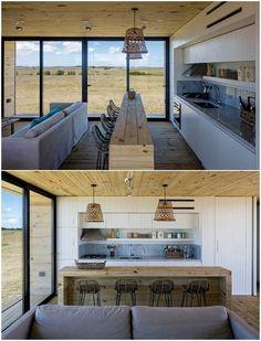 Casa prefabricada en uruguay, y en dos módulos | por MAPA Diy Wooden Projects, Wooden Diy, House Made, My House, Cabana, Container House Plans, Container Homes, Modular Homes, Small House Plans