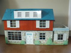 Vintage Metal Dollhouses 35