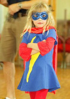 Meninas querem ser super-herois também!