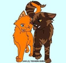 Warriors brambleclaw and squirrelflight