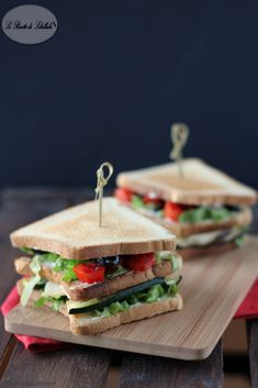 Club Sandwich vegetariani
