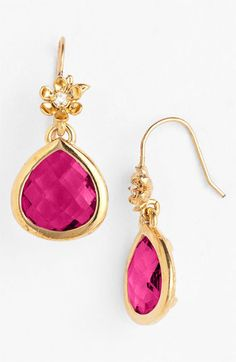Juicy Couture Boxed Drop Earrings  #glitterinjuicy #givemewhatiwant