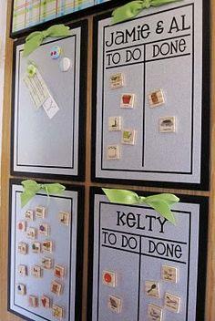 Chore Charts  #family-organization