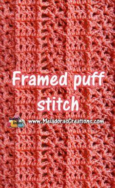 Framed Puff Stitch