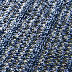 Lacy crochet shawl free pattern~k8~