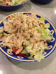 Shredded Chicken Summer Salad Recipe