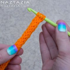 How to Crochet or Knit an I-Cord - DIY YouTube Video Tutorial by Donna Wolfe from Naztazia