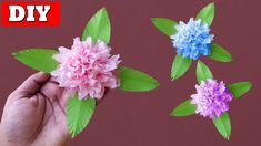 In this video, you'll learn How To Make Tissue Paper Flower Easy Step By Step.Many people want to know about How To Make Tissue Paper Flower. Diy Flowers, Paper Flowers, Easy Paper Crafts, Origami Tutorial, Craft Videos, Tissue Paper, Wreaths, How To Make, Crafts