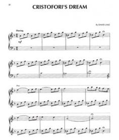 David Lanz - Cristofori's Dream/My funeral song played by Sarafina or Jessi or Christina or Kailan