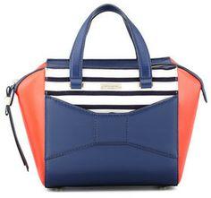 Kate Spade 2 Park Avenue Beau Small Shopper Tote Bag, French Navy on shopstyle.com