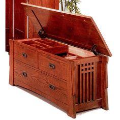 Mission Style Bedroom Furniture | Mission Furniture Shaker Craftsman Furniture