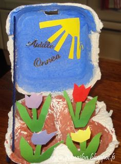 askartelua: äitienpäivä, kananmunakenno, kukkia   crafts: Mother's Day, an egg cell, flowers hantverk: mors dag, en äggcell, blommor http://ipanaaskartelua.blogspot.fi/2013/05/kukkia-aidille.html
