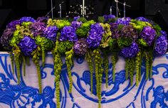 Hydrangea/flower arrangement/flower decor/event/party