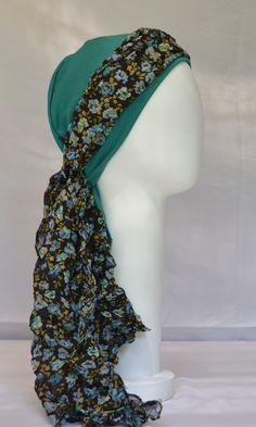 Turbante para quimioterapia/chemo scarf/ 100% algodon/ cómodos/ alegres Scarf, Sew, Accessories, Fashion, Turbans, Beanies, Moda, Fashion Styles