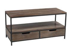 Table en bois basse   KOTECAZ Entryway Bench, Storage, Furniture, Home Decor, Raw Furniture, Industrial Loft, Industrial Style, Metal Wood Coffee Table, Wood Tv Stands