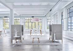 The full Tailored collection. Featuring the new Tailored High Back lounge, Tailored 21 & Tailored 32 coffee tables and the Tailored 45 meeting table. Also featured is the new Aura pendant light. image by rugs by Couch Furniture, Furniture Design, Couch Sofa, High Back Armchair, Modern Office Decor, Meeting Table, Melbourne Australia, Lighting Design, Lounge