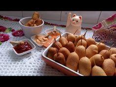 d86da149d00 Petisco fácil de salsicha.  receita  bolinho  salsicha - YouTube Petisco